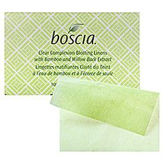 "boscia - Clear Complexion Blotting Linens  #sephora- I really want it because I used their peppermint blotting linens, which are no longer in stock, and they took care of my ""shine"" very well!  Can't wait until I purchase these!"
