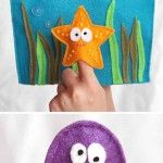 30 modelos de Brinquedos de Feltro e Tecido Educativos para Bebês