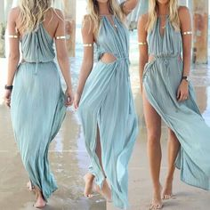 Wow. Not sure how I'd wear this without feeling naked but it is really pretty :) #casualdress