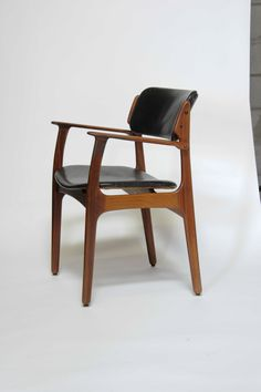 Set of Six Rosewood Eric Buch Dining Chairs Model 49 for Illums Bolighus image 6