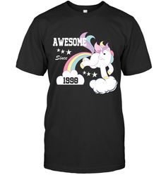 Awesome Since 1990 Unicorn Shirt Birthday Gift Tee 19th Birthday Gifts, 28th Birthday, Cool T Shirts, Funny Shirts, Unicorn Shirt, Custom Shirts, Classic T Shirts, Hoodies, Tees