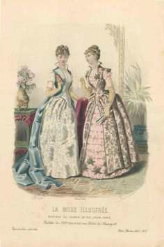 1885 - La mode illustree