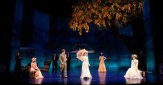 Love's Labour's Lost - Love's Labour's Lost. Huntington Theatre. Scenic design by Alexander Dodge. 2006 --- #Theaterkompass #Theater #Theatre #Schauspiel #Tanztheater #Ballett #Oper #Musiktheater #Bühnenbau #Bühnenbild #Scénographie #Bühne #Stage #Set