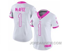 http://www.jordannew.com/womens-nike-indianapolis-colts-1-pat-mcafee-white-pink-stitched-nfl-limited-rush-fashion-jersey-discount.html WOMEN'S NIKE INDIANAPOLIS COLTS #1 PAT MCAFEE WHITE PINK STITCHED NFL LIMITED RUSH FASHION JERSEY DISCOUNT Only $23.00 , Free Shipping!