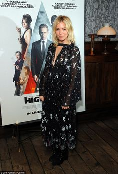 Sienna Miller rocks a maxi dress at the High-Rise film screening | Daily Mail Online
