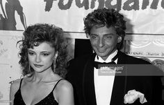 Barry Manilow and actress Emma Samms