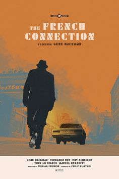 The French Connection alternative movie poster