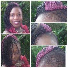 Crochet Braids No Knot Method : ... knot crochet method for locs or prebraided hair. The invisible knot