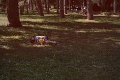 Enfant au parc.
