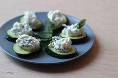 Summer recipe : Labne cucumbers