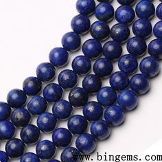 Jewelry & Accessories Adaptable Wholesale Aaa Quality Blue Natural Stone Beads Loose Round For World Beads Dye Which Are 4/ 6/ 8/ 10/ 12 Mm Diy Bracelet Beads