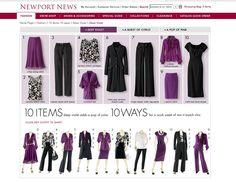 10 items 10 ways originally from Newport News (purple)