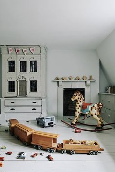 Traditional Playroom in Kids' Bedroom Ideas on HOUSE by House & Garden. Fun ideas for kids' bedrooms that don't scrimp on style Home Decor Bedroom, Kids Bedroom, Bedroom Ideas, Bedroom Designs, Bedroom Furniture, Furniture Design, Traditional Baths, Georgian Homes, Kid Spaces