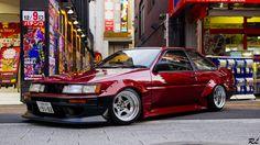 Toyota AE86 Hachi-Roku JDM Japanese Sports Cars, Classic Japanese Cars, Classic Cars, Japanese Domestic Market, Corolla Ae86, Toyota Corolla, Toyota Trueno, Toyota 86, Import Cars