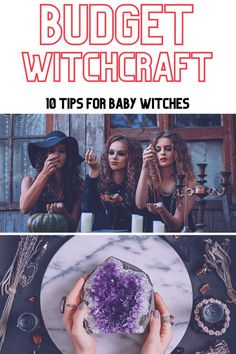 Budget witchcraft tips: how to save money as a witch. Cheap crystals, affordable athames, budget friendly candles. You don't have to spend a ton of money to become a real witch. Save money by making your own witchy crafts and supplies. If you want to get started on your own witchcraft journey but don't have the money for expensive supplies, or if you're simply not ready to spend a lot of money yet, consider making your own. Witchcraft History, Witchcraft Symbols, Witchcraft Herbs, Witchcraft Books, Witchcraft Supplies, Witchcraft Tattoos, Wiccan Magic, Learn Magic, Real Witches