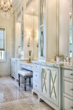 Gorgeous 40 Pretty Dream Bathroom Design Ideas For Your Home. Luxury Master Bathrooms, Dream Bathrooms, Beautiful Bathrooms, White Bathrooms, Small Bathrooms, Master Bedrooms, Bathroom Renos, Bathroom Interior, Modern Bathroom