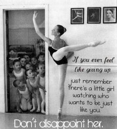 """Little Girl Watching,"" Ballet Quote"