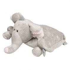 Elephant Travel Buddy - Blanket/Toy/Pillow