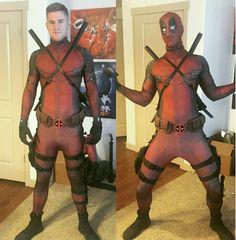 Deadpool Full Body Costume