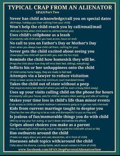 Family Justice ~ True Parental Alienation Stories