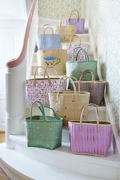 Bags on the stairs_682