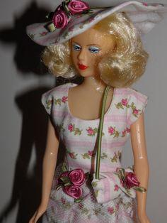Handmade OOAK Dress for Barbie Like Dolls Roses by SherisShoppe, $10.00
