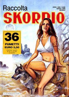 Fumetti EDITORIALE AUREA, Collana SKORPIO RACCOLTA n°382 Marzo 2006
