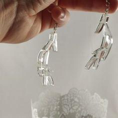 Shop - McAniko Alina Starkov, Bones, Drop Earrings, Silver, Shopping, Jewelry, Jewlery, Jewerly, Schmuck