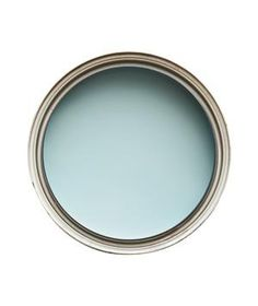 Ceiling Blue: With white walls, this will make a room feel bigger and airier.   Glidden, Still Moment FA018