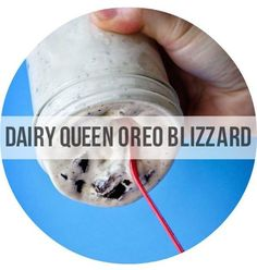 Homemade DQ Oreo Blizzard - http://bravetart.com/recipes/DairyQueenVanillaIceCreamGF  | Copycat Recipes For Your Favorite Fast Foods