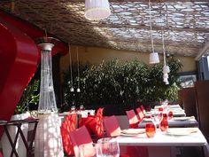 Decoración exterior restaurante Abrassame - BCN