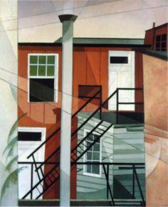 (1921) Modern Conveniences (Charles Demuth)