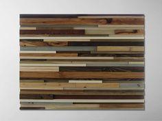 Reclaimed Wood Wall Art Wood Art Wall Art by ModernRusticArt, $550.00