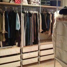整理収納分部/無印良品/ワードローブ/衣類収納/クローゼットの中/クローゼット…などのインテリア実例 - 2013-05-06 06:56:02 | RoomClip(ルームクリップ)
