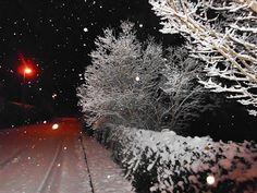 #Natur und Leben: Abendspaziergang im #Winter