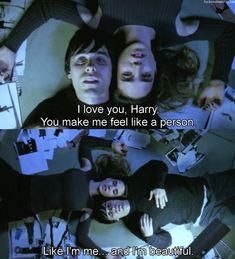 """""""You make me feel like a person"""" Requiem for a Dream (2000) dir. by Darren Aronofsky"""