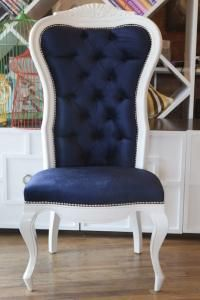 Nautical Riviera Wing Chair