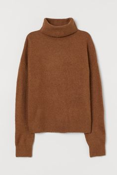 YUNY Men Turtleneck Long Sleeve Knitted Pure Colour Warm Sweater Pullover Pattern3 XS