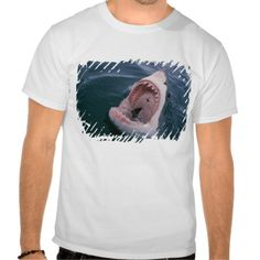 Great White Shark Rows of Teeth 2 T-shirt