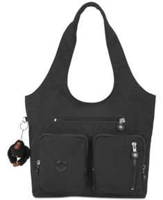 00ec7379ca21 Kipling Anet Handbag - Black Leather Backpack Purse