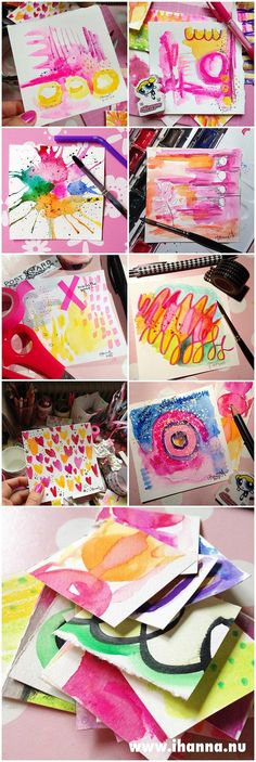 @ihanna says: Creating a little Art as a Daily Practice is a great way to develop your own artistic style. I think that Art as a Daily Practice is good for your health.