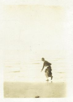 inscribed: Newport, Oregon, August 9, 1927, almost caught