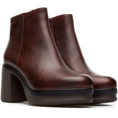 Camper Thelma Red Ankle boots Women K400226-002. See more. Camper –  Official online store