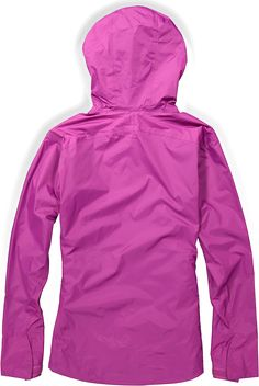 1cf1727799 The women s Sierra Designs Hurricane rain jacket delivers complete  waterproof protection in a lightweight shell with simple underarm vents  that keep you ...