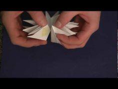 3D Stern (Taschenstern) Anleitung - Bastelanleitung - Sterne basteln