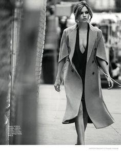 Harper's Bazaar Poland | Jan/Feb 2015 | Josephine Skriver by Riccardo Vimercati | Styled by Sara Francia