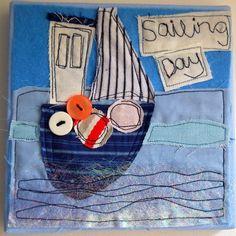 sailing day canvas