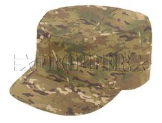 Propper® Multicam™ VS Patrol Cap    Made from 100% Multicam™ VS material.  Propper's BDU Patrol caps are made of single-ply construction with serged inside seam and plastic insert visors.  Material: Genuine Crye Precision Multi-Cam™ Fabric