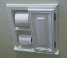 Tp 8 Recessed In The Wall Bathroom Toilet Paper Holder Kleenex Tissue Dispenser