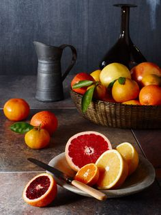 Citrus by Jennifer Davick.. we had blood orange trees at the vineyard in st helena.. mmmmm lovely